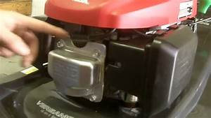 How To Replace A Spark Plug  U0026 Air Filter On A Honda Mower