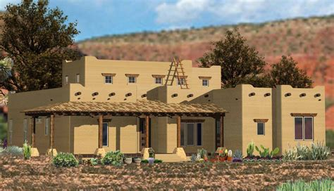 southwestern home  angled family room ge architectural designs house plans