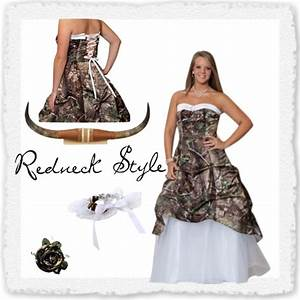 redneck wedding dresses camo or plaid redneck wedding With redneck wedding dress