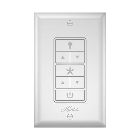 indoor white universal wall mount ceiling fan