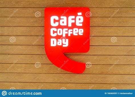 Cafe coffee day is one of india's largest chains of coffee shop, providing numerous types of fresh coffee, sandwiches and snacks from over 1,550 locations across the country. Cafe Coffee Day Logo On A Wooden Wall A Popular Coffee Chain In India Editorial Photo - Image of ...
