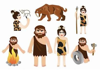 Clipart Caveman Stone Age Neanderthal Printable Prehistoric