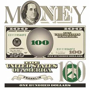 Vector money with dollars design template 02 - Vector ...