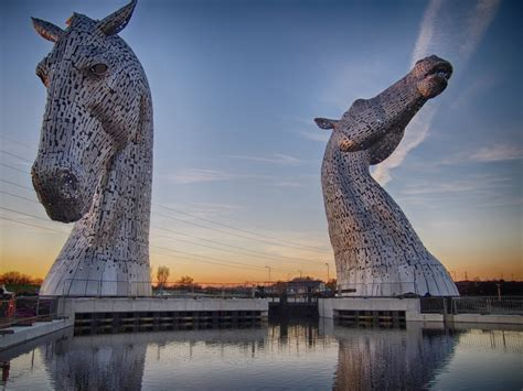 Things To See In Scotland The Kelpies  An Exploring