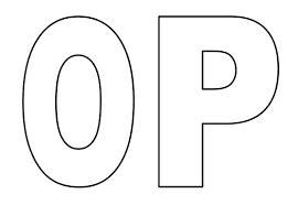 resultado de imagen para moldes de letras para imprimir letras alphabet templates lettering