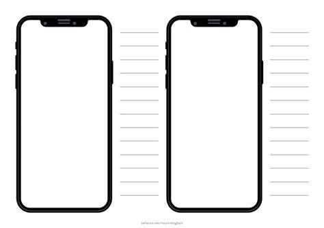 free iphone x mockup templates bundle in xd pdf on wacom gallery