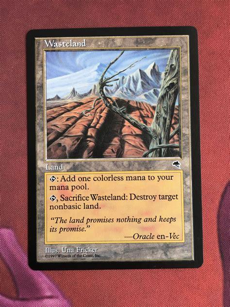 wasteland  images magic  gathering wasteland