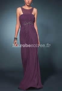 robe de soiree pour mariage robe de soirée lylou col rond pour femme en mousseline pour mariage