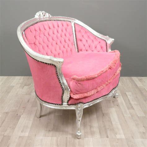 canape baroque baroque sofa pink bronze statue