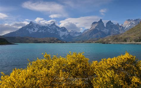 Mountains Glaciers And Lakes Of Torres Del Paine National