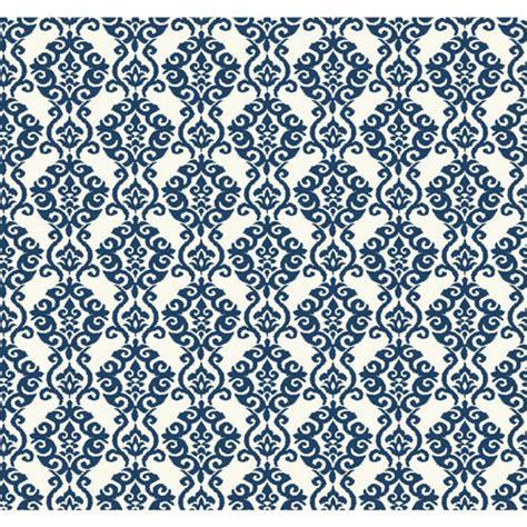 50 Waverly Blue And White Wallpaper On Wallpapersafari
