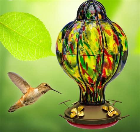hummingbird feeder with perch fresh garden decor