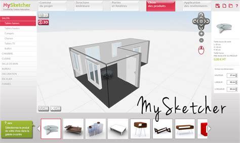 logiciel d architecture 3d gratuit mysketcher ma d 233 coration maison
