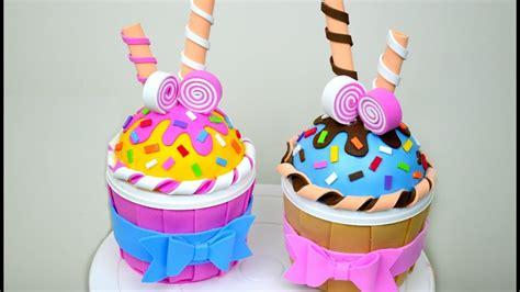 cupcake en foami cajita espacio creativo youtube