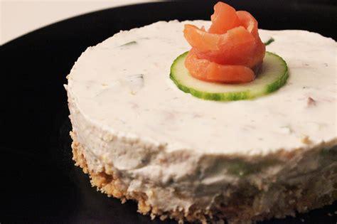 cheesecake sale au saumon cuisine ta mere
