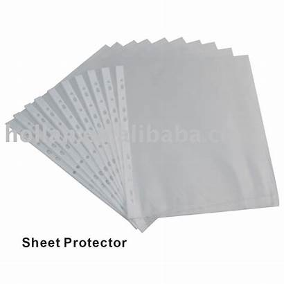 Sheet Protector Stationery