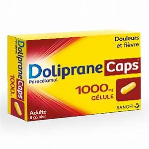 Doliprane Caps 1000mg 8 G U00e9lules - M U00e9dicaments