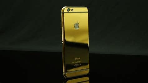gold plated iphone  costs   features