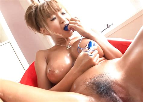Hot Busty Asian Kurea Muto Vibrating Her Oiled Up Clit 1 Of 1