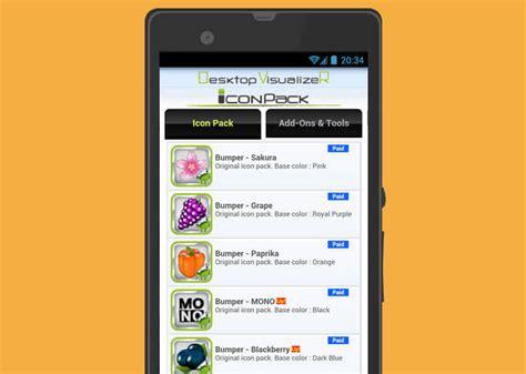 agrandir icones bureau changer les icônes de vos applications android