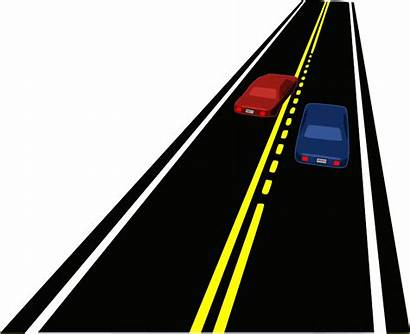 Road Clipart Cars Passing Zone Horizontal Clip