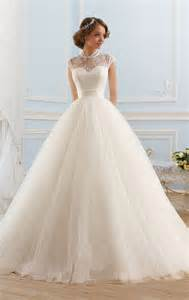cheap wedding dresses with sleeves vestidos de novia 2016 high neck wedding dress cap sleeves gown bridal dresses robe de