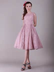 pink vintage lace bridesmaid dresses cherry - Retro Bridesmaid Dresses