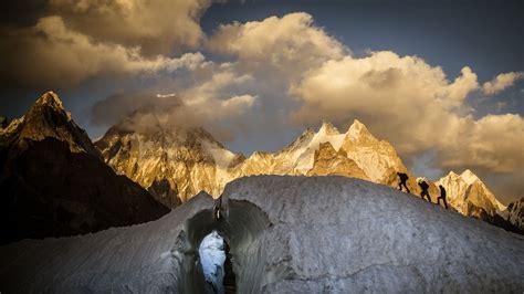 glacier   karakoram region  pakistan photography