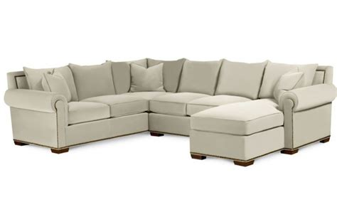 Thomasville Leather Sofa With Chaise by Sofa Sectional With Chaise Fremont Thomasville Luxury