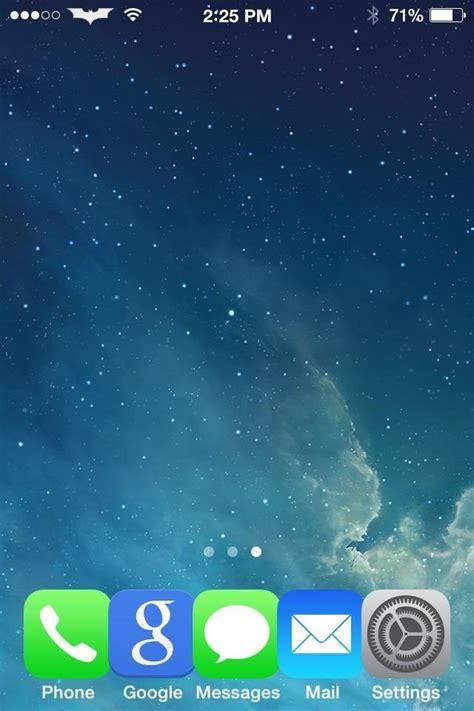 screw translucency   iphones dock background