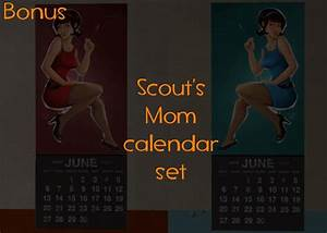 Two Year Calendars More Pin Up Calendars Team Fortress 2 Texture Mods