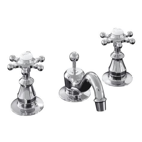 vintage bathroom sink faucets shop kohler antique polished chrome 2 handle widespread