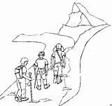 Wandern Ausmalbild Kostenlos Malvorlagen Kinder Coloring sketch template