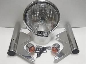 Jual Lampu Cb100 H4 Paket Lampu Pesek Dudukan Plat Nomor