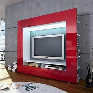 Tv Lowboard Rot Hochglanz : wow wohnzimmer fernsehschrank hochglanz rot led lcd tv media wohnwand lowboard ebay ~ Sanjose-hotels-ca.com Haus und Dekorationen