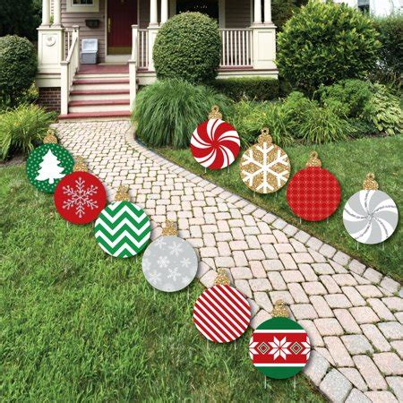 ornaments lawn decorations outdoor holiday  christmas