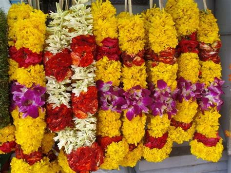 flower garland indian wedding yellow and orchid flower garland indian wedding