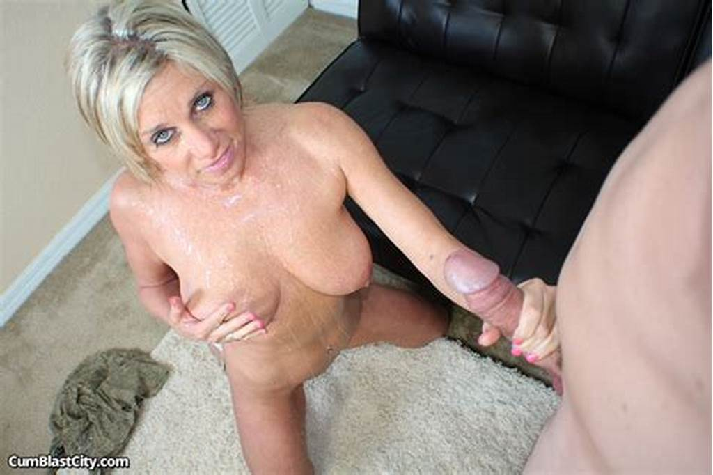 #Close #Up #Of #Payton #Hall #Getting #Blasted #With #Cum