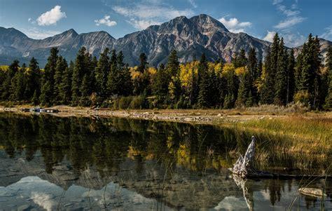 Alberta Canada Mountains Wallpaper Hd Nature 4k