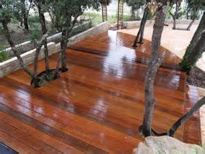 terrasse en parquet ipe ext 233 rieur sur lambourdage en bois