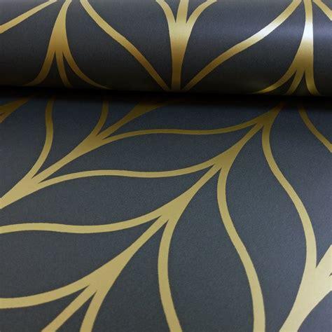 holden shimmering geo striped wallpaper art deco trellis