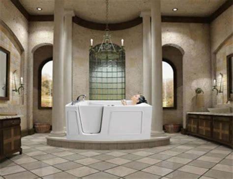 Luxury Walk In Showers by Trend Homes Luxury Walk In Bathtubs For Everyone