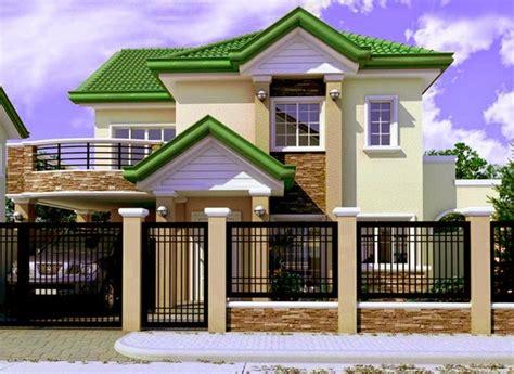 model rumah sederhana berpagar rumah pagar minimalis