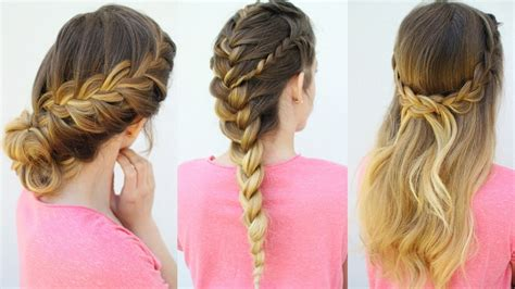 french braid hairstyles   school hairstyles