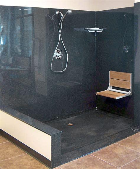 standard showers