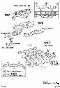 Toyota Yaris Exhaust Manifold  Gen  Engine  Chile