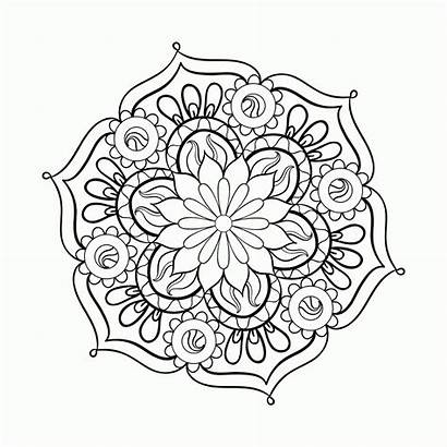 Coloring Adult Pages Paisley Popular Printable
