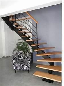 Escalier Metal Prix : escalier modulaire vs limon central acier ~ Edinachiropracticcenter.com Idées de Décoration