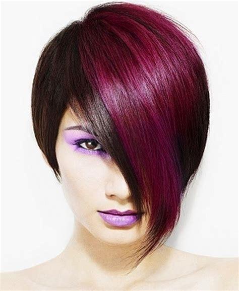 Funky Hair Color Ideas For Short Hair Hair Ideas And