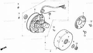 Honda Atv 1986 Oem Parts Diagram For Alternator